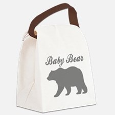 Baby Bear Canvas Lunch Bag