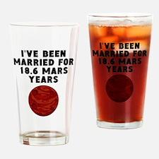 35th Anniversary Mars Years Drinking Glass