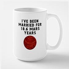 35th Anniversary Mars Years Mugs