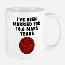 35th Anniversary Mars Years Mugs