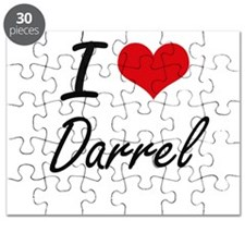 I Love Darrel Puzzle