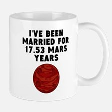 33rd Anniversary Mars Years Mugs