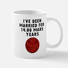28th Anniversary Mars Years Mugs