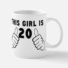 This Girl Is 20 Mugs