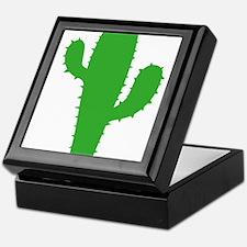 Funny Cactus Keepsake Box