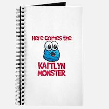 Kaitlyn Monster Journal