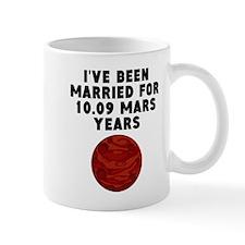 19th Anniversary Mars Years Mugs