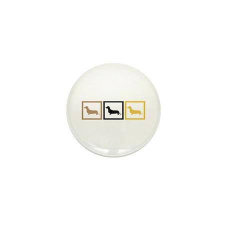 Dachshund Mini Button (100 pack)