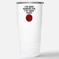 15th Anniversary Mars Years Travel Mug