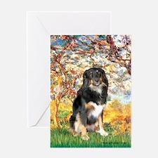 Spring-Aussie (Tri-L) Greeting Card