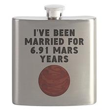 13th Anniversary Mars Years Flask