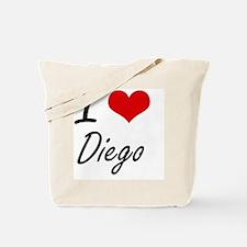 I Love Diego Tote Bag