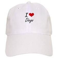 I Love Diego Baseball Cap