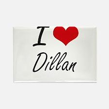 I Love Dillan Magnets