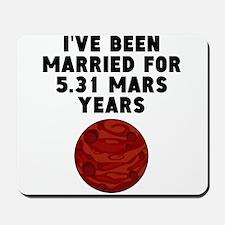 10th Anniversary Mars Years Mousepad