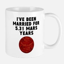 10th Anniversary Mars Years Mugs