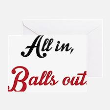 Dolls & Balls (Back) Greeting Card
