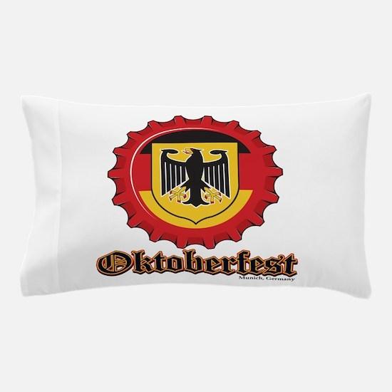 Octoberfest Bottle Cap Pillow Case