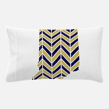 Notre Dame Chevron Pillow Case