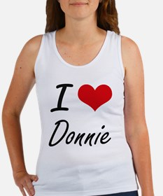 I Love Donnie Tank Top