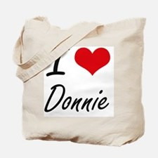 I Love Donnie Tote Bag