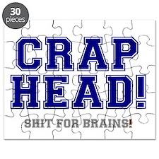 CRAP HEAD - SHIT FOR BRAINS! Puzzle