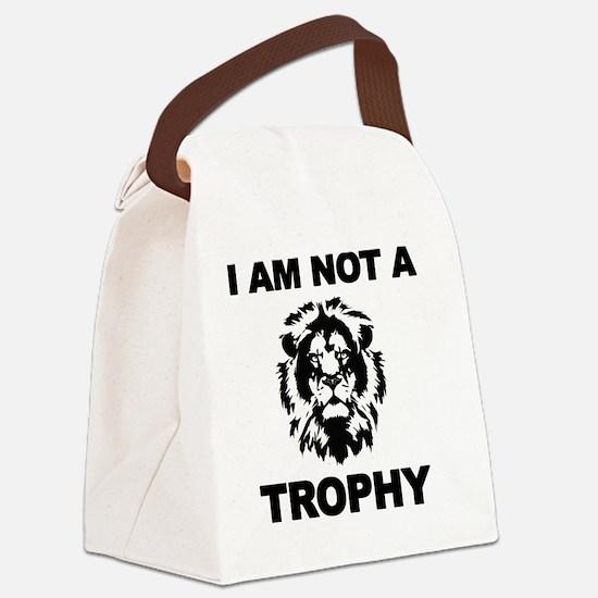 Cecil Lion Canvas Lunch Bag