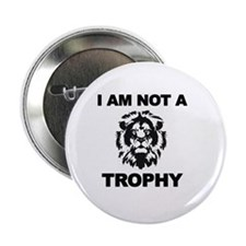 "Cecil Lion 2.25"" Button"