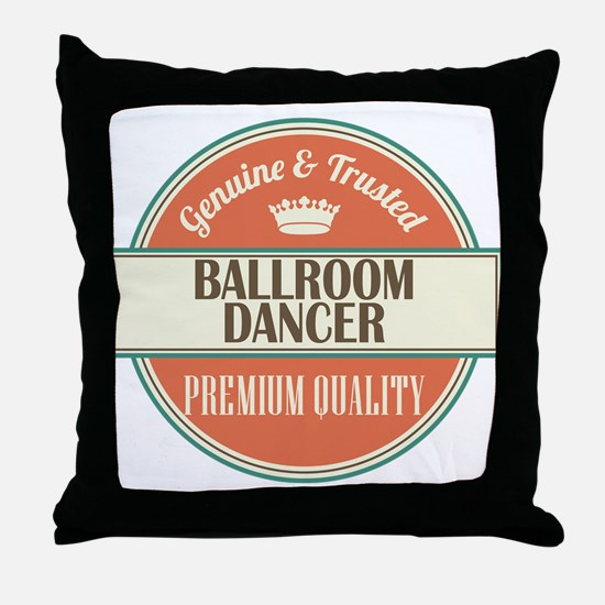 Ballroom Dancer Throw Pillow