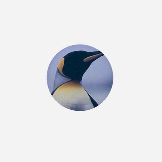 King Penguin Mini Button