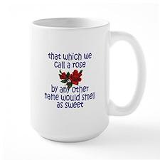 Sweet Rose Quote Mug