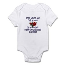 Sweet Rose Quote Infant Bodysuit