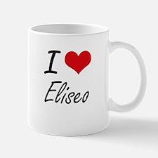 I Love Eliseo Mugs