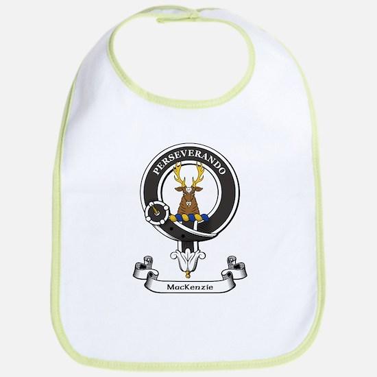 Badge-MacKenzie [Cromarty] Cotton Baby Bib
