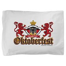 Oktoberfest 2 Lions Pillow Sham