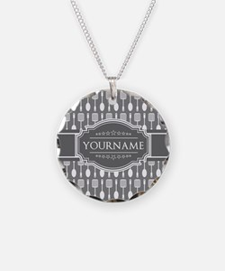 Charcoal Gray Custom Persona Necklace