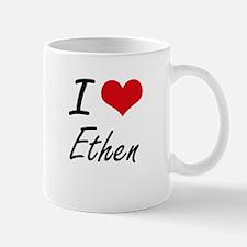 I Love Ethen Mugs