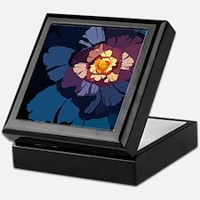 Flower-01 Keepsake Box