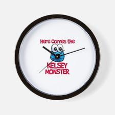 Kendall Monster Wall Clock