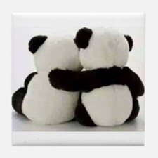 Panda Lover Tile Coaster