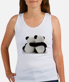 Cute Beast mode panda Women's Tank Top