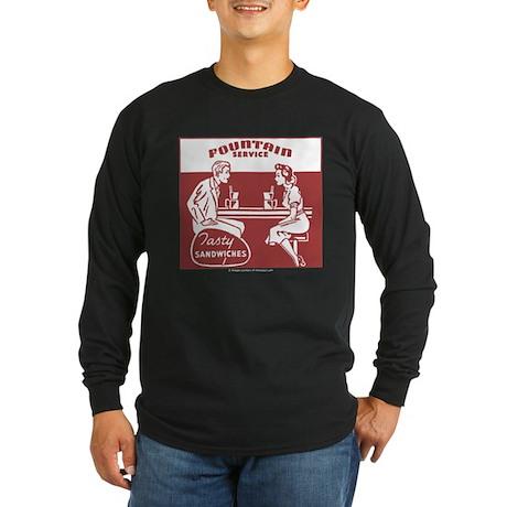 Tasty Sandwiches Long Sleeve Dark T-Shirt