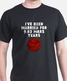 17th Anniversary Mars Years T-Shirt