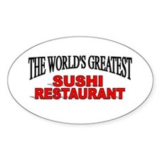 """""""The World's Greatest Sushi Restaurant"""" Decal"""