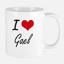 I Love Gael Mugs