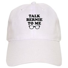Talk Bernie To Me Baseball Baseball Cap