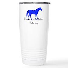 Cute Funny cowgirl Travel Mug