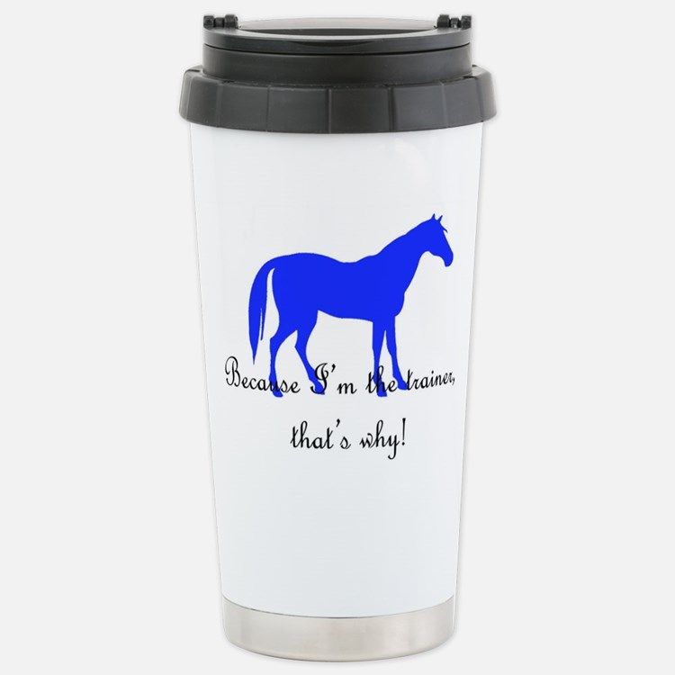 Cute Barrel horse Travel Mug