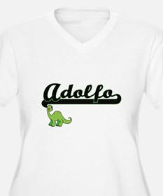 Adolfo Classic Name Design with Plus Size T-Shirt