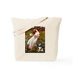 Windflowers-AussieShep (L) Tote Bag